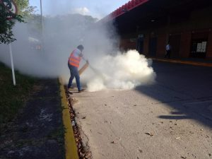 La Terminal de Transportes de Villavicencio con capacidad para atender incendios en sus instalaciones.