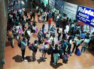 Somos la sexta Terminal del país, que más viajeros recibe.